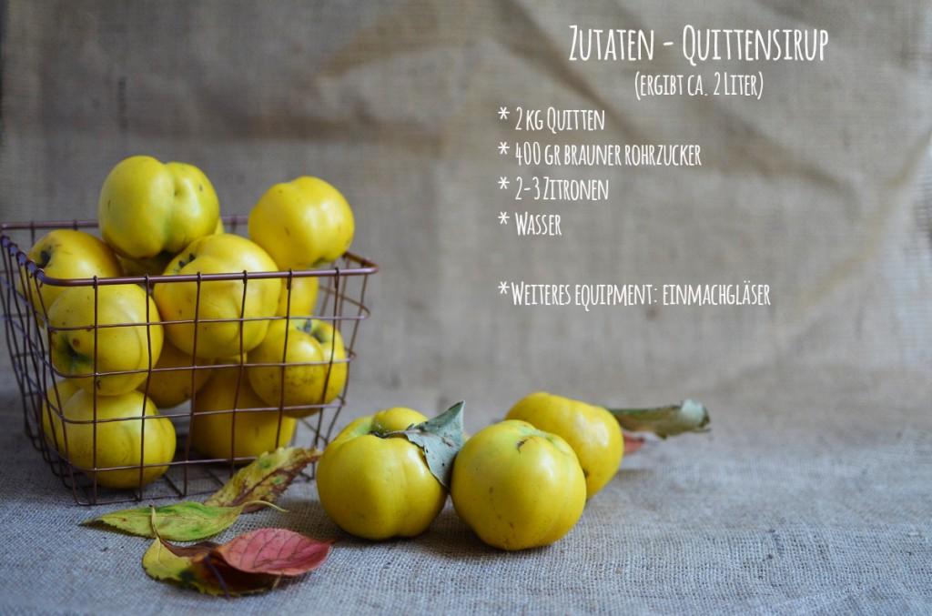 Pottlecker_Quitten Zutaten