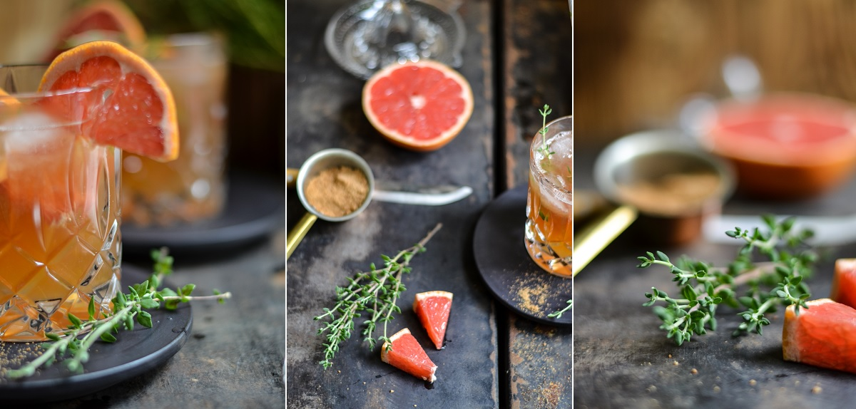 Grapefruit-Eistee