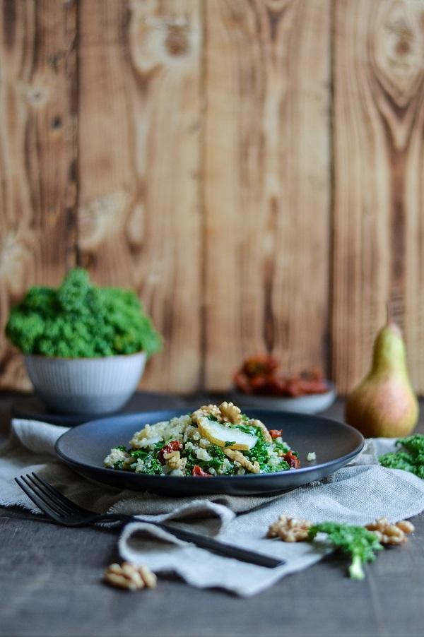 Grünkohl-Quinoa Pfanne